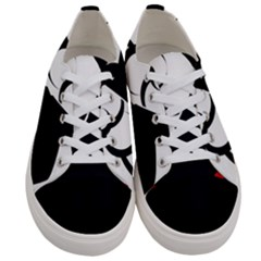 Flamenco Dancer Women s Low Top Canvas Sneakers