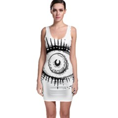 Big Eye Monster Bodycon Dress