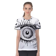Big Eye Monster Women s Sport Mesh Tee