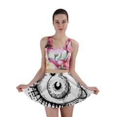 Big Eye Monster Mini Skirt