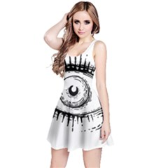 Big Eye Monster Reversible Sleeveless Dress