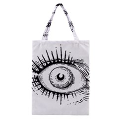 Big Eye Monster Classic Tote Bag