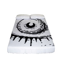 Big Eye Monster Fitted Sheet (full/ Double Size)