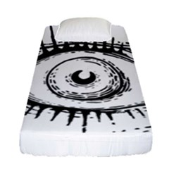 Big Eye Monster Fitted Sheet (single Size)