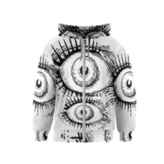 Big Eye Monster Kids  Zipper Hoodie