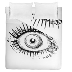 Big Eye Monster Duvet Cover Double Side (queen Size)
