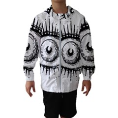 Big Eye Monster Hooded Wind Breaker (kids)