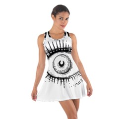 Big Eye Monster Cotton Racerback Dress