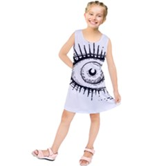 Big Eye Monster Kids  Tunic Dress