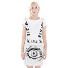 Big Eye Monster Braces Suspender Skirt