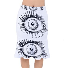 Big Eye Monster Mermaid Skirt