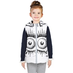 Big Eye Monster Kid s Puffer Vest