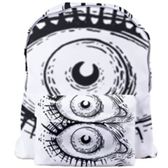 Big Eye Monster Giant Full Print Backpack