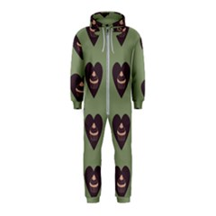 Cupcake Green Hooded Jumpsuit (kids)