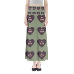 Cupcake Green Full Length Maxi Skirt