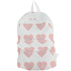 Cupcake White Pink Foldable Lightweight Backpack