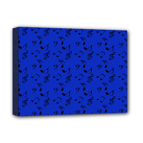 Royal Blue Music Deluxe Canvas 16  X 12