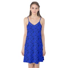 Royal Blue Music Camis Nightgown