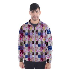 Quilt Of My Patterns Small Wind Breaker (men)