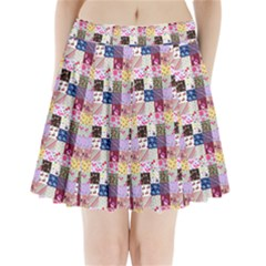 Quilt Of My Patterns Small Pleated Mini Skirt