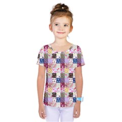 Quilt Of My Patterns Small Kids  One Piece Tee