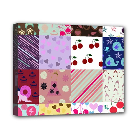 Quilt Of My Patterns Canvas 10  X 8