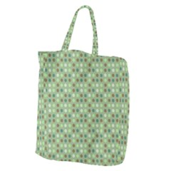 Green Brown  Eggs On Green Giant Grocery Zipper Tote