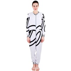 Code White Onepiece Jumpsuit (ladies)