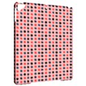 Grey Red Eggs On Pink Apple iPad Pro 9.7   Hardshell Case View2