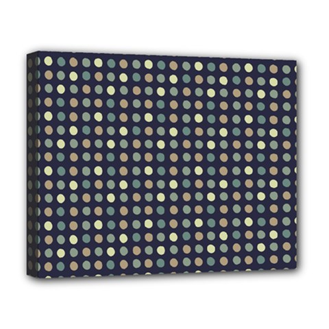 Beige Blue Cream Eggs On Grey Blue Deluxe Canvas 20  X 16