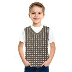 Grey Beige Eggs On Dark Grey Kids  Sportswear