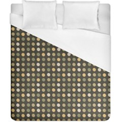 Grey Beige Eggs On Dark Grey Duvet Cover (california King Size)