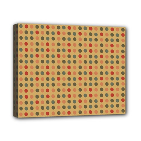 Grey Brown Eggs On Beige Canvas 10  X 8