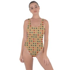 Grey Brown Eggs On Beige Bring Sexy Back Swimsuit
