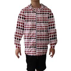 Reddish Dots Hooded Wind Breaker (kids)