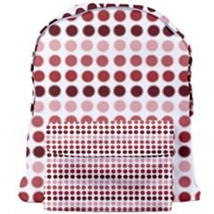 Reddish Dots Giant Full Print Backpack