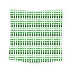 Greenish Dots Square Tapestry (small)