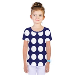 Big Dot Blue Kids  One Piece Tee