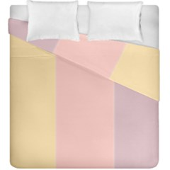 Ice Cream Lines Duvet Cover Double Side (king Size)