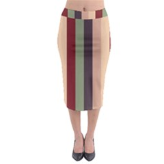 Junkie Zombie Midi Pencil Skirt