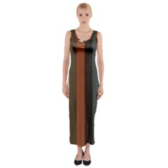 Young Nature Fitted Maxi Dress