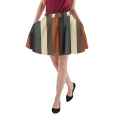 Young Nature A Line Pocket Skirt
