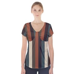 Young Nature Short Sleeve Front Detail Top
