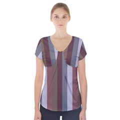 Old Princess Short Sleeve Front Detail Top