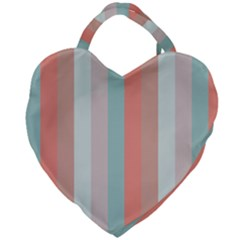 Seafoam Splash Giant Heart Shaped Tote