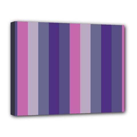 Concert Purples Canvas 14  X 11