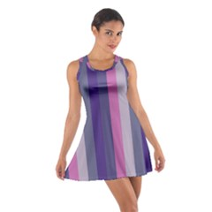Concert Purples Cotton Racerback Dress