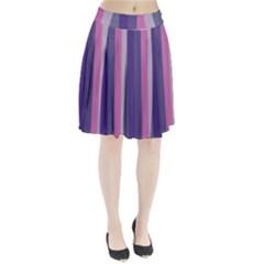 Concert Purples Pleated Skirt