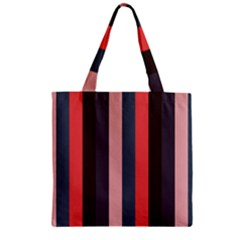 Boy Zipper Grocery Tote Bag