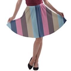 Modern Baroque A Line Skater Skirt